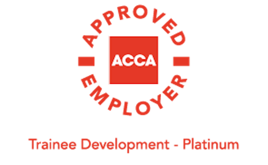 ACCA Approved Employer Platinum status
